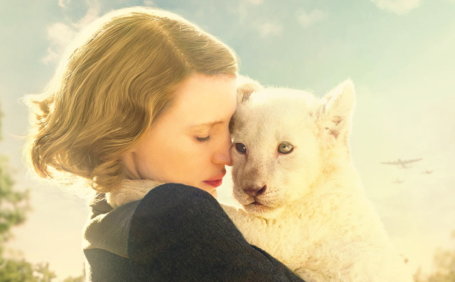"""The Zookeeper's Wife"" Premieres in India at MAMI in association with Vkaao and PVR PICTURES"