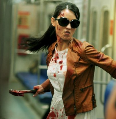 The Hammer Girl in The Raid 2