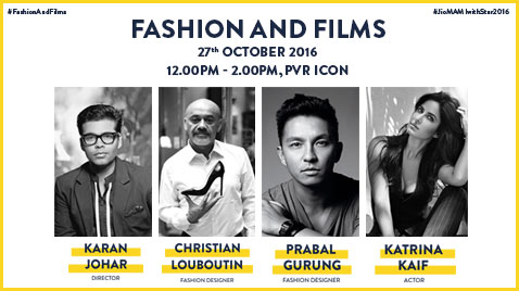 FASHION GURUS CHRISTIAN LOUBOUTIN AND PRABAL GURUNG TO GRACE JIO MAMI 18TH MUMBAI FILM FESTIVAL WITH STAR