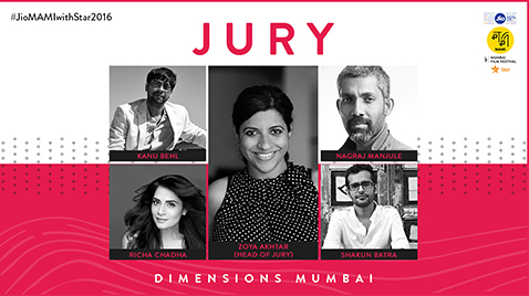 JIO MAMI 18TH MUMBAI FILM FESTIVAL WITH STAR ANNOUNCES JURORS FOR DIMENSIONS MUMBAI