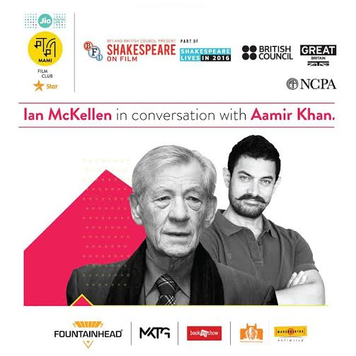 SIR IAN McKELLEN TO VISIT INDIA WITH 'SHAKESPEARE LIVES ON FILM'